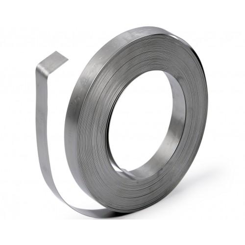 Лента бандажная COT37 (AISI 201) 2мм 0.7x20мм (катушка 100м)