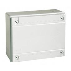 Коробка ответвительная 190х140х70, IP56 (54110) с гладкими стенками