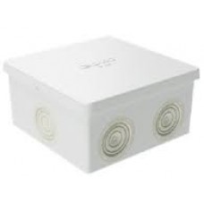 Коробка ответвительная 80х80х40, IP44, с 6 кабельными вводами